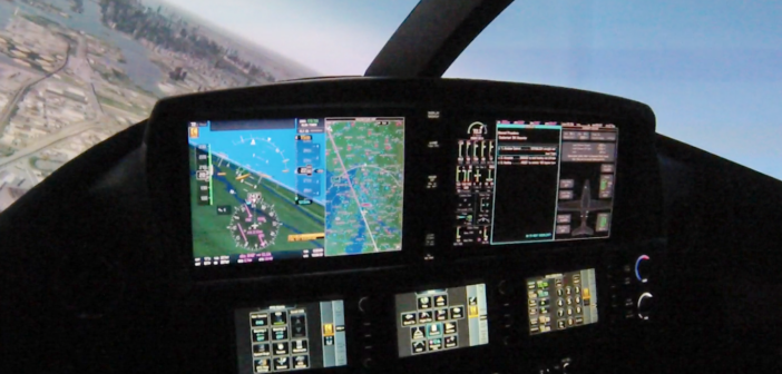 First Flight in Cirrus SF50 Full Motion Simulator