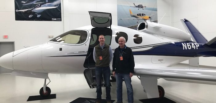 Cirrus VisionJet SF50 … Delivery # 35!